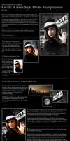 Create a Noir-style Poster