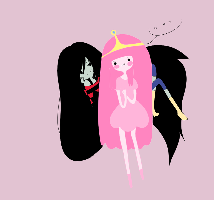 Queen Marceline -- Princess Bubblegum by Lolipopu