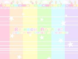 F r e e | Rainbow Attack! | Custom Box Wallpaper by Aearia