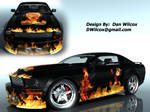 Mustang Design Contest Flames