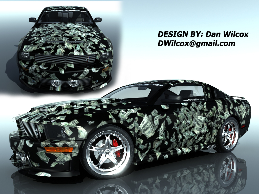 Mustang design entry money by nascar3d