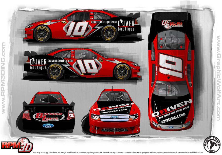 race car graphic design templates - cobb racing car design by nascar3d on deviantart