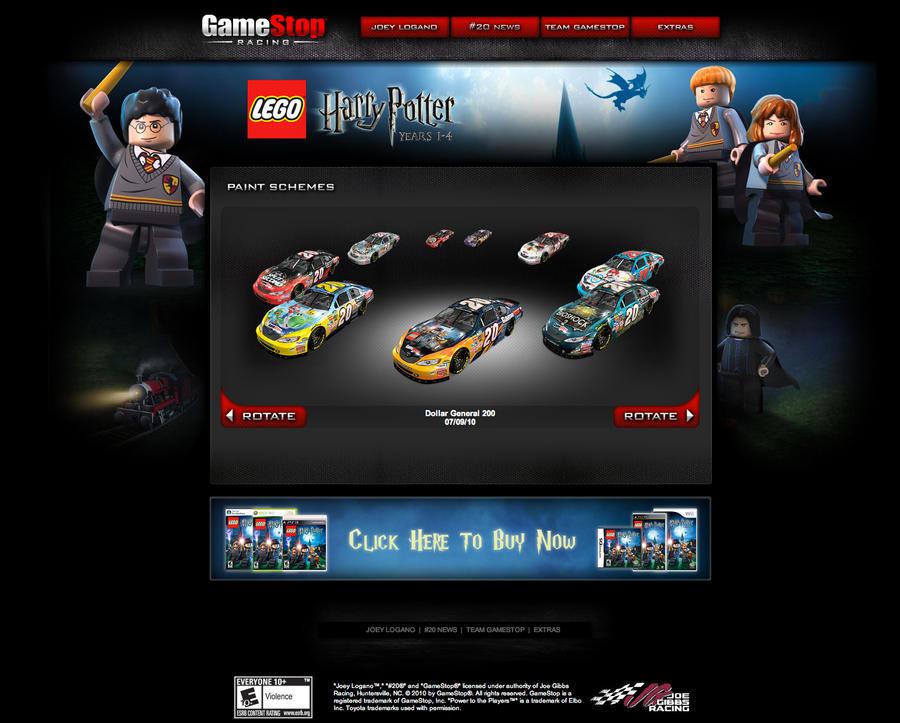 Gamestop Lego Harry Potter 2 By Nascar3d On Deviantart