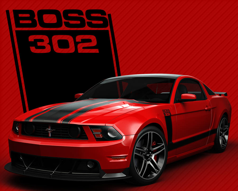 boss_302_70__s_style_red_by_nascar3d-d4h