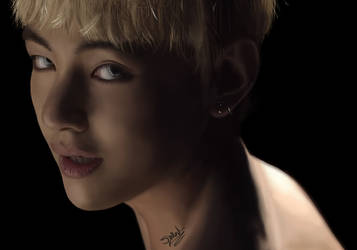 Taehyung - BTS V | Wings - Blood, Sweat and Tears by Woozy-Woo
