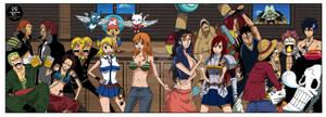 One Piece x Fairy Tail