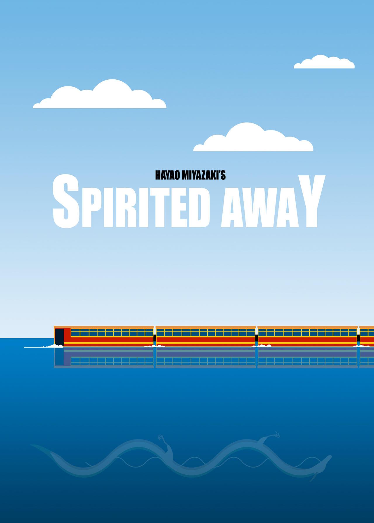 Spirited Away Minimalist Poster by saigo21 on DeviantArt