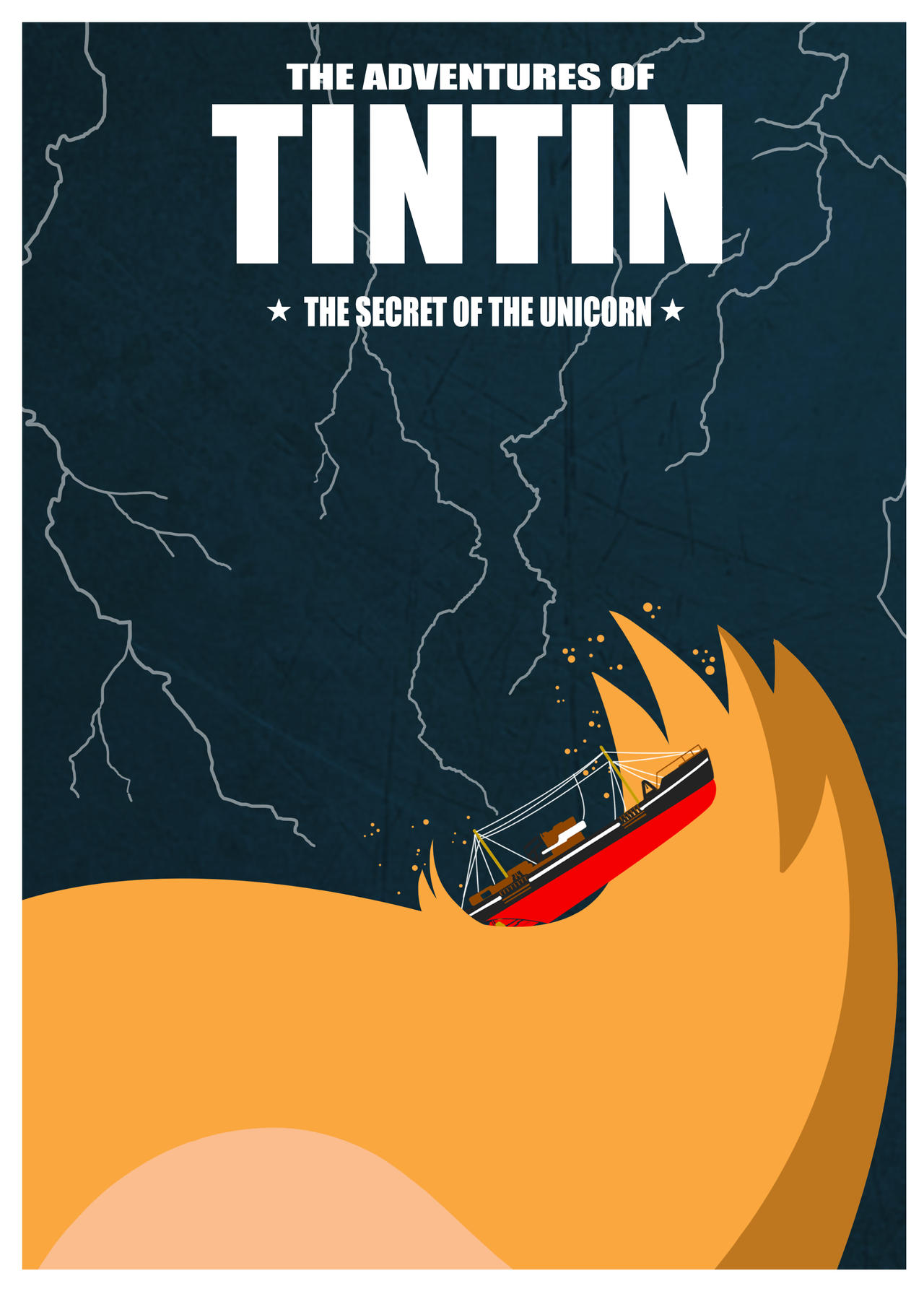 The Adventures of Tintin Minimalist Poster by saigo21 on ...
