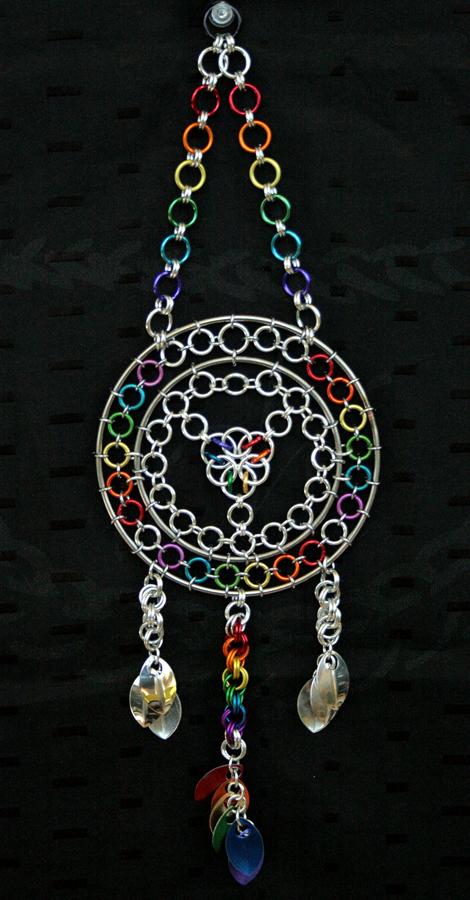 Rainbow Dreamcatcher by Ichi-Black