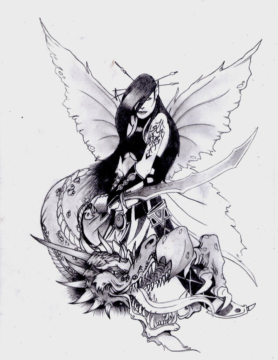 fairy dragon original by caseyrobinson on deviantart. Black Bedroom Furniture Sets. Home Design Ideas