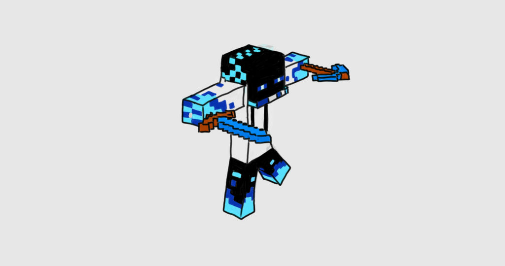 Minecraft Enderman Skin By Faarahanimations On Deviantart