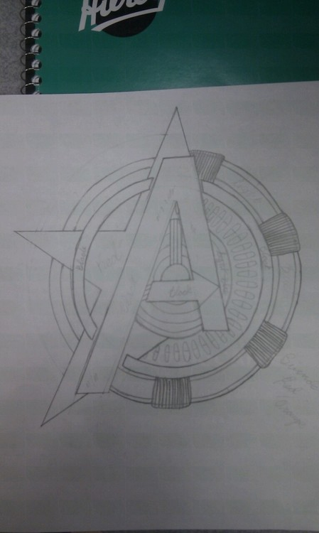 avengers tattoo design by ferdiekins on deviantart. Black Bedroom Furniture Sets. Home Design Ideas