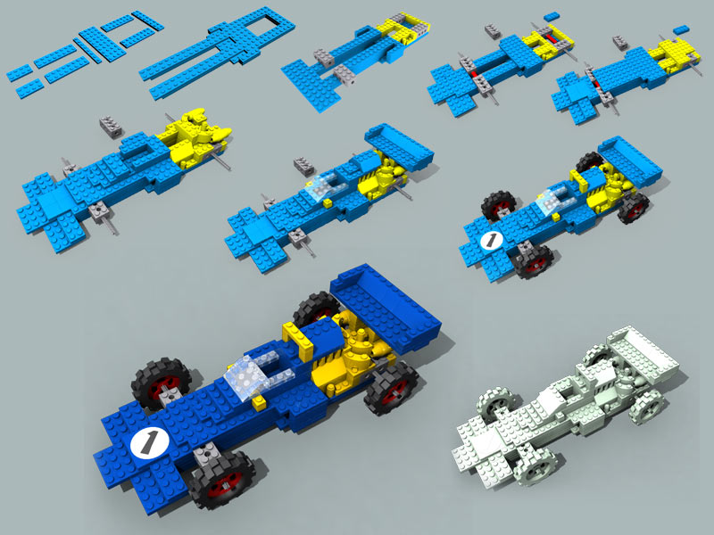 Lego Race Car By Positivedope On Deviantart