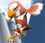 Pokemon Eagle by PositiveDope