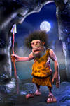 Caveman final by PositiveDope
