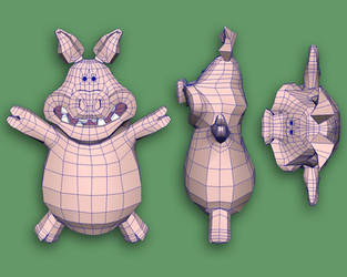 Pigs From Shaun Wires by PositiveDope