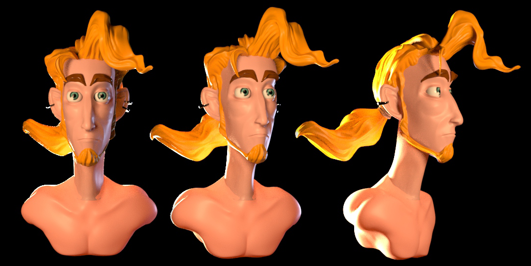 some more work on Guybrush Threepwood by PositiveDope