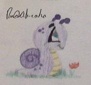 Slimy the snail