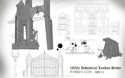 1800s Industrial Perspective Props sheet