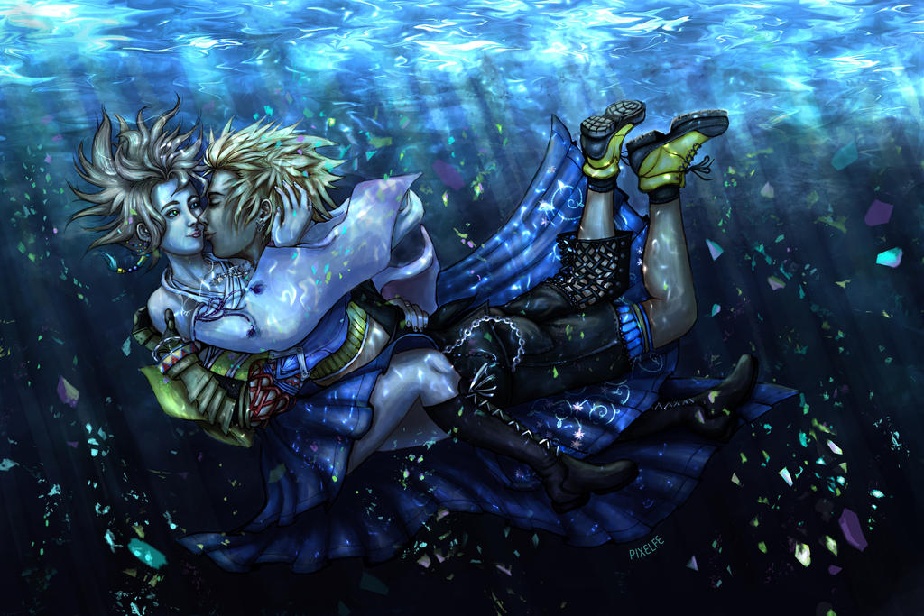 Underwater Kiss by pixelfe