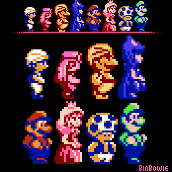 Super Mario Bros 2 Usa And Ddp Reshade Edit By Binbowie On