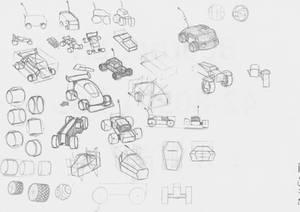 Rc Car Design practice