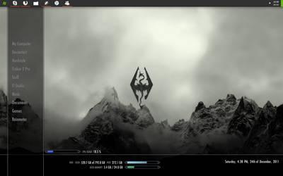 Skyrim Desktop :D 24.12.2011 by F8Fabe