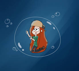 Wendy in a Bubble by mellodee123