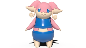 Audino's two-piece swimsuit by kuby64