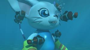 Gatomon underwater 4