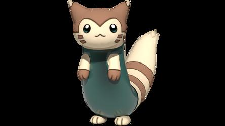 Furret's one-piece swimsuit