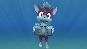 Chip's underwater photoshoot by kuby64