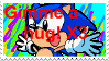 Sonic wants a hug stamp by ThessaTheCat