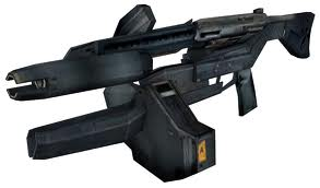 XX-25s hunter killer pulse rifle by omegaoni77