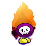 Flaming Bomber