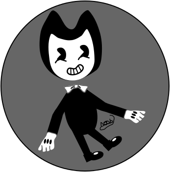 Bendy (First Draw) by ArtificialGreninja