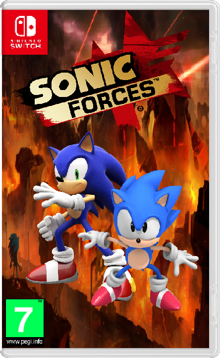 Sonic Forces Nintendo Switch Case Unofficial By Artificialgreninja On Deviantart
