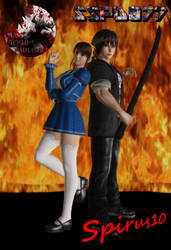 Request 23: Fayt and Rena poster by Spirus10