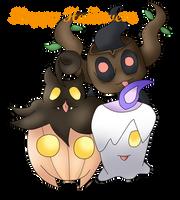 Pokemon Halloween! by Ethelbutt