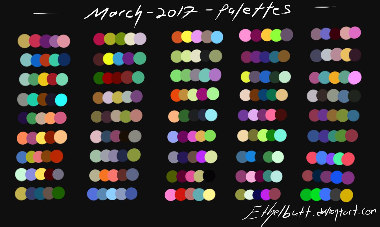 100 graphic design color palettes 2017