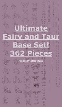 Ultimate Base Taur and Fey Expansion, 362 Pieces!
