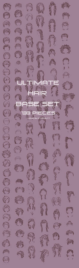New Ultimate Hair Base Set