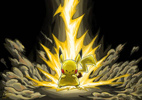 Pikachu In Darkness