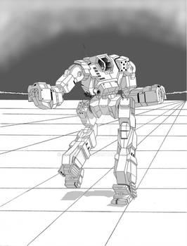 Lurker - Battletech
