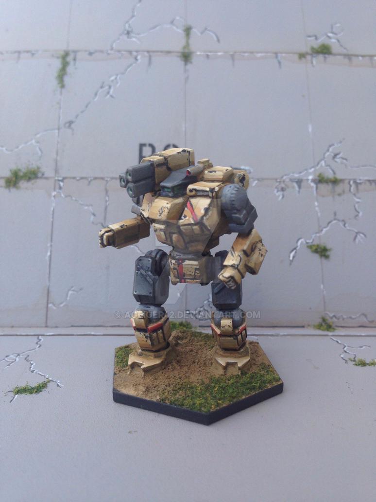 Quasimodo - Battletech   by AGeiger42