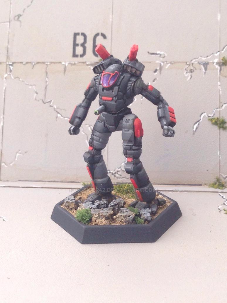 Ostscout - Battletech  by AGeiger42
