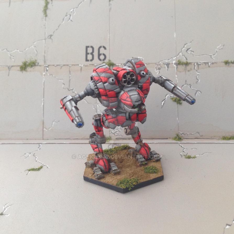 Uziel - Battletech  by AGeiger42