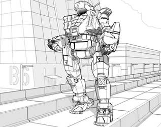 Quickdraw - Battletech (Alt Head Ver)