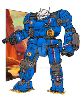 Atlas II - Battletech (Color Ver)