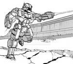 Whitworth - Battletech by GEIGERA42